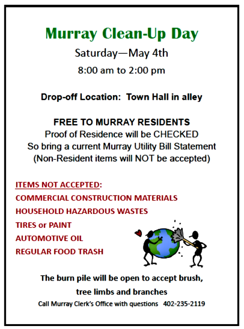 2019 04 17 MURRAY CLEAN UP DAY 1