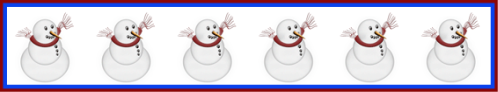 2018 01 24 snowmen and snowflakes