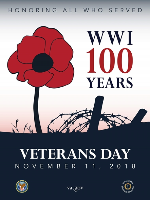 2018 11 07 VETS DAY WWI 100 years