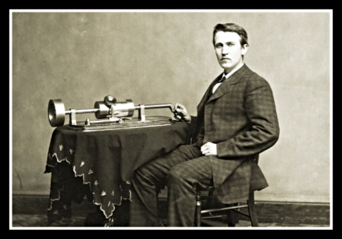 2020 02 19 Edison early phonograph