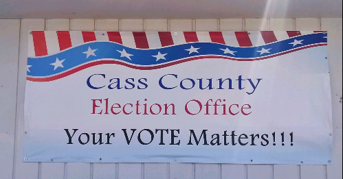 2020 08 04 Election Office sign