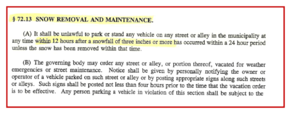 2021 01 27 MRY SNOW REMOVAL ORDINANCE 1