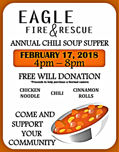 2018 01 31 EGL fire rescue Soup Supper