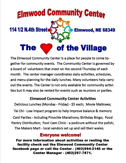 2019 01 23elmwood communitycenter Jan 2019