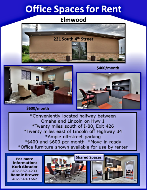 2020 09 16 ELM Office Spaces for Rent Flyer