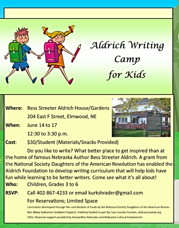 2021 03 31 ELM Aldrich Writing Camp 2021