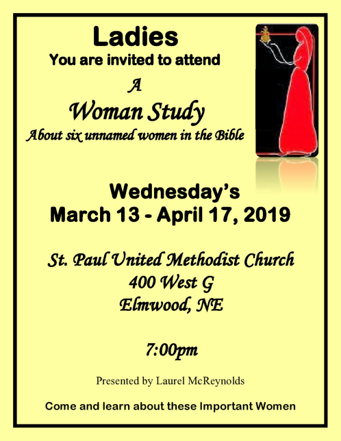 2019 03 20 ELM St Paul Ladies lent service page0001