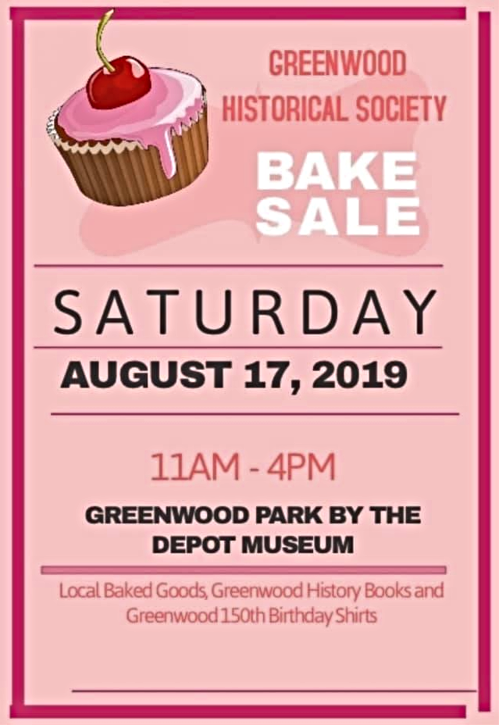 2019 07 31 GRN Hist Society bake sale