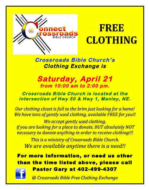 2018 04 18 MNLY Crossroads Clothing Exchange