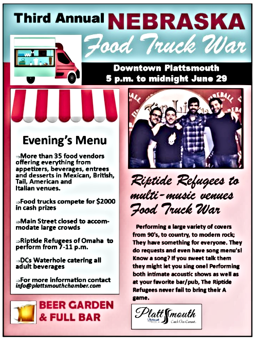 2019 04 17 PLT Food truck war flyer 2019