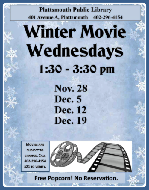 2018 12 12 PLT Library Winter Movie