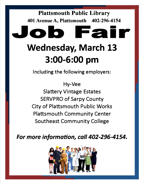 2019 03 06 PLT LIB Job Fair201903