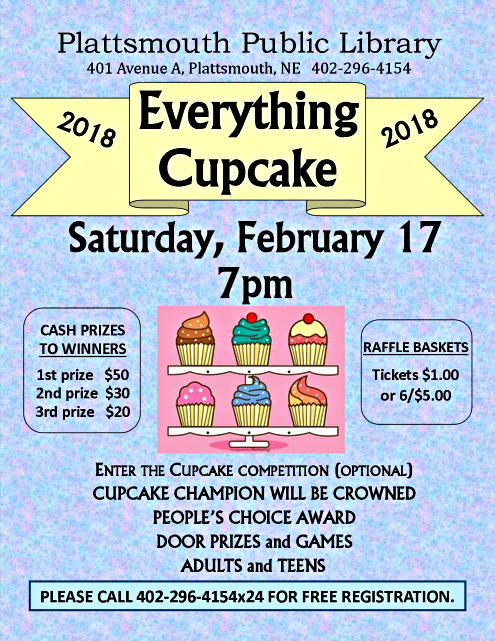 2018 01 10 PLT Lib Everything Cupcake 2018