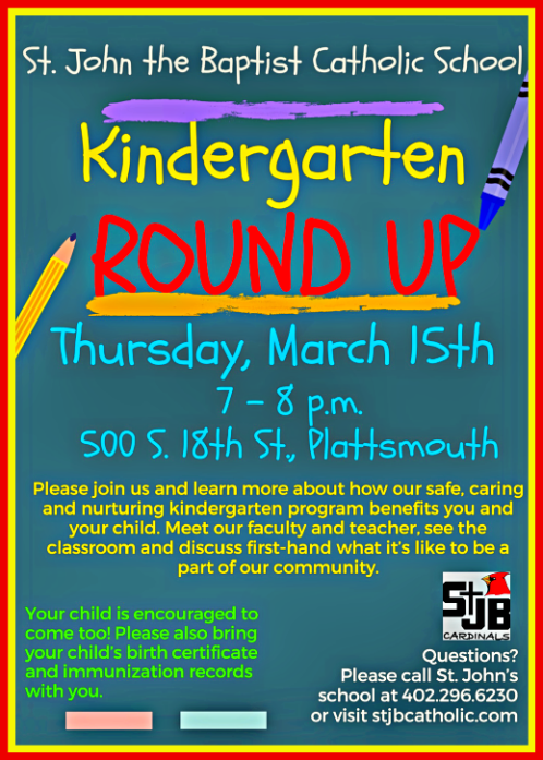 2018 02 28 PLT St Johns Kindergarten round up