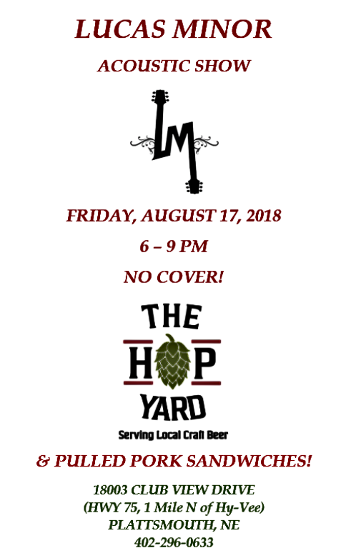 2018 08 15 L MINOR HOP YARD PLT