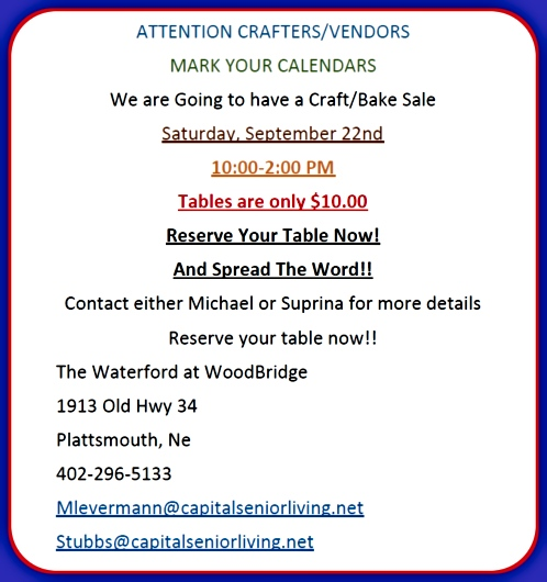 2018 08 01 PLT Woodbridge Craft Fair