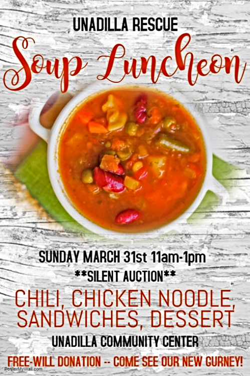 2019 02 13 UNA rescue soup supper