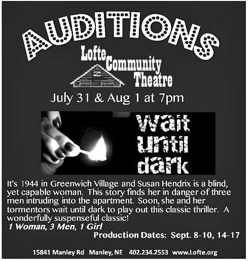 2017 07 05 LOFTE audition Wait Until Dark